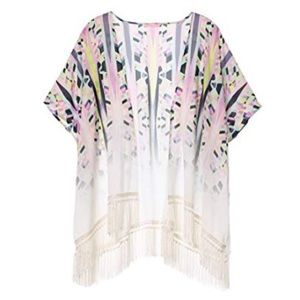 | Victoria's Secret | fringe open swim cover up